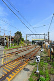 Railway in Kyoto Royalty Free Stock Photography