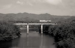 Railway landscape ,southwest mountain area,China Stock Images