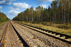 Railway line Stock Photography