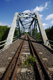 Railway line Royalty Free Stock Photography