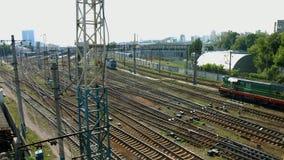 Railway line. stock footage