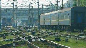 Railway line. stock video