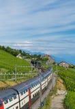 Train. Lavaux Ch Royalty Free Stock Photo