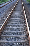 Railway line in a rural area Stock Image
