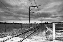 Railway Line , South Africa Stock Photo