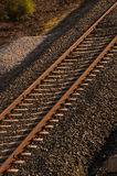 Railway lines. Stock Photos