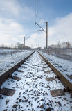Railway lines Stock Images