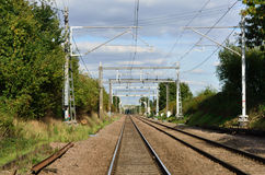 Railway Lines Royalty Free Stock Image