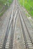 Railway lines Stock Images