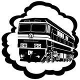 Railway locomotive Royalty Free Stock Photo