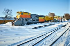 Railway locomotives Stock Photography