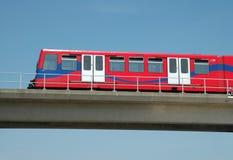 railway london docklands светлый Стоковые Изображения