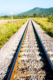 Railway in lumphun province Thailand Stock Photography