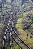 Railway marshalling yard Royalty Free Stock Photo