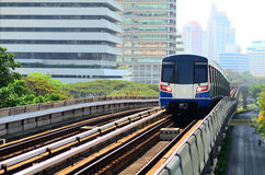 Railway mass transit of bangkok thailand Royalty Free Stock Images