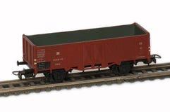 A railway modeller. Stock Photo