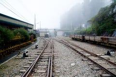 Railway on the mountain Royalty Free Stock Photo