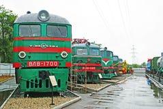 Railway Museum in Samara, Russia Royalty Free Stock Images