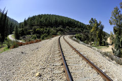 Railway near Jerusalem. Stock Photography