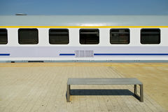 Railway passenger car Stock Images