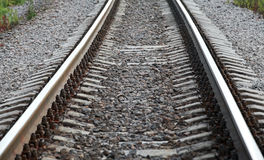 Railway perspective Royalty Free Stock Image