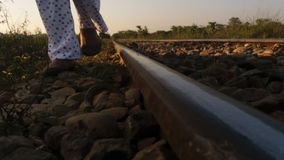 Railway pictures. Catch by me Stock Photography