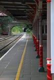 Railway Platform  Royalty Free Stock Photos