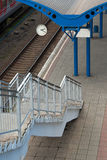 Railway platform Royalty Free Stock Photo