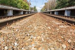 Railway Platform Stock Image