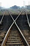 Railway point Stock Photography