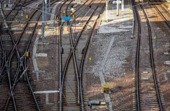 Free Railway Pointwork, Railway Tracks, High-speed Rail Royalty Free Stock Photography - 110860507