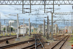 Railway rail Royalty Free Stock Images