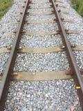Railway. Rail way track Royalty Free Stock Photo