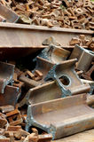 Railway rails scrap 5 Royalty Free Stock Image