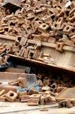 Railway rails scrap 9 Stock Photo