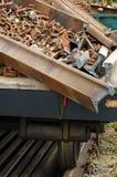 Railway rails scrap 1 Stock Photo