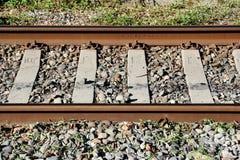 Railway rails Royalty Free Stock Photos