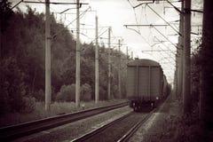 Railway. Stock Image