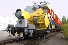 Railway renewal train Royalty Free Stock Images