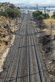 Railway road Stock Image