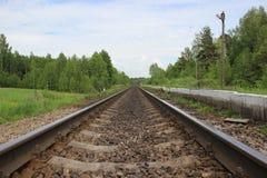 Railway. stock photography