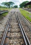Railway section Stock Photo