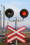Railway semaphore Stock Photos
