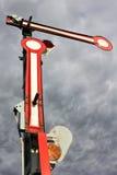 Railway semaphore Stock Image