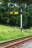 Railway Semaphore Signal Stock Images