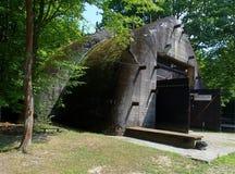 The railway shelter in Konewka. Stock Photos
