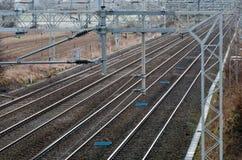 Railway sidings Stock Photography
