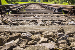 Railway sidings details 007-130509 Royalty Free Stock Photos