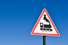 Railway sign Stock Images