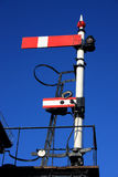 Railway signal Royalty Free Stock Photos
